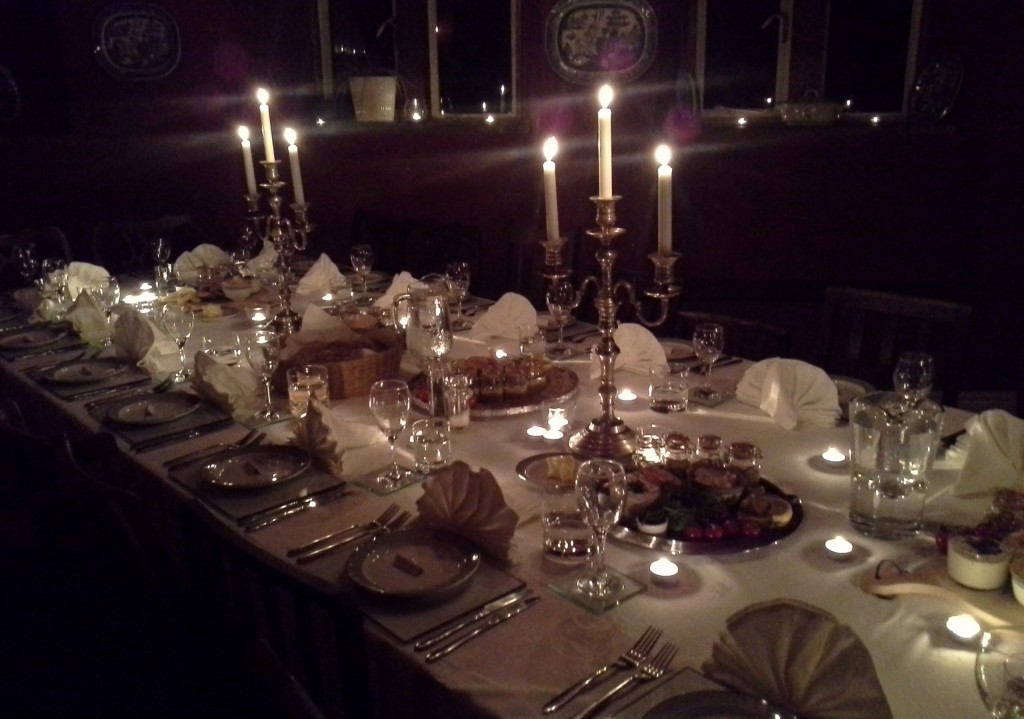 Lynn Hilditch catering providing dinner party catering for Rowley Estates