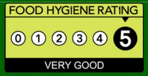 5* Food Hygiene Rating for lynn hilditch catering