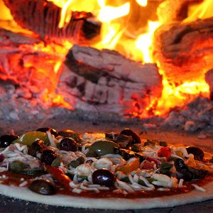 Wood Fired Pizza Oven by Lynn Hilditch Catering