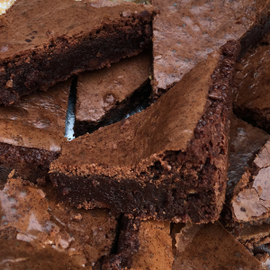 chocolate Brownie slice by lynn hilditch